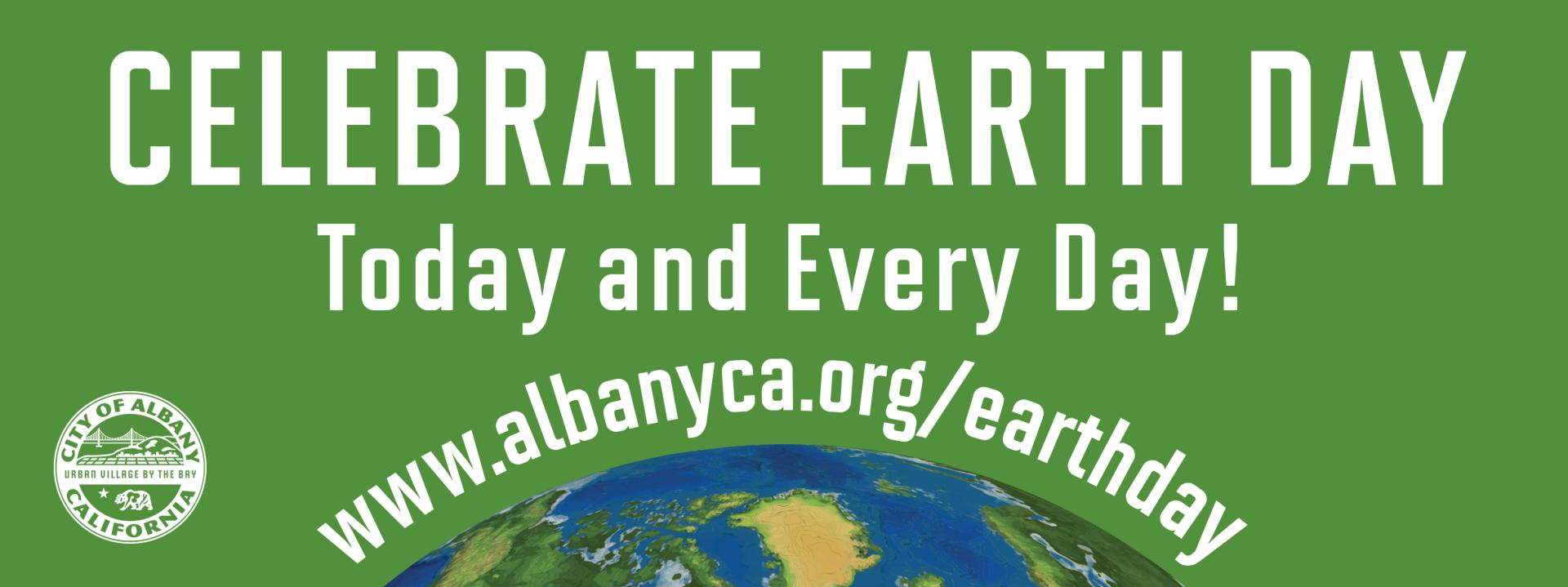 Earth Day 2021 City Of Albany Ca